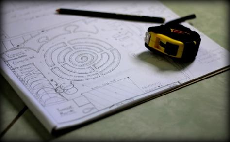 contoh desain kebun mandala