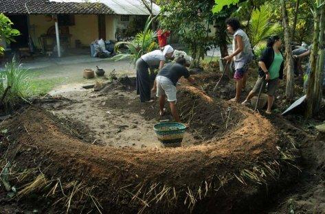Permablitz Jogja #4 di Batik Sogan